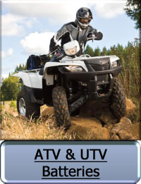 ATV and UTV Batteries