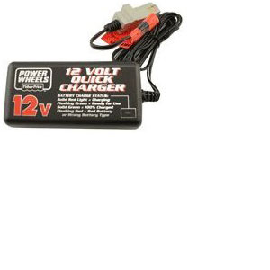 Power Wheels 12 Volt Probe Battery Charger: 00801-1429