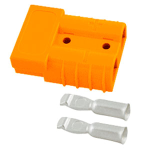 SB-350 Orange Connector: #3/0 Gauge