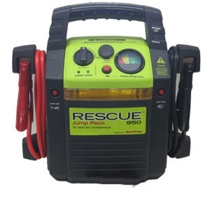 QuickCable Rescue Jump Pack 950 with Air Compressor (California Compliant)