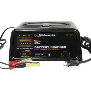 Schumacher 12/24 Volt, 10 Amp Battery Charger