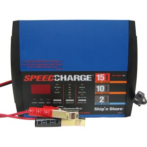 Schumacher 15/10/2 Amp Ship'N Shore Battery Charger