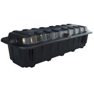 Dual 8D End-to-End Battery Box