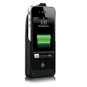 Energy Holster with Built-In Rechargeable Battery for Apple iPhone 4 and 4S