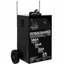 DynaCharge 12 Volt, 2/20/55/140 Amp Wheel Charger