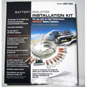 NOCO Battery Isolator Standard Installation Kit
