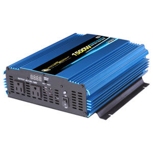 Power Bright PW1500-12 1500 Watt Power Inverter