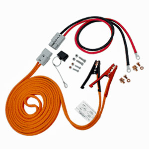 Booster Assembly: 4 AWG, 30 FT Cable, 4 FT Harness - Without Polarity Indicator