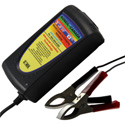 24 Volt, 8 Amp Battery Charger with Clamps