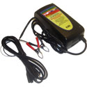 Battery Defender 48 Volt 3 Amp Battery Charger with Clamps
