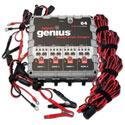 NOCO Genius 6/12 Volt, 4.4 Amp Charger - 4 Bank