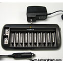 10-slot+AA%2C+AAA%2C+and+9V+Battery+Charger