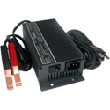 Schauer JAC0524 Charger: 24 Volt, 5 Amp with Clips