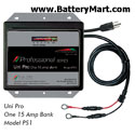 Dual Pro 12 Volt 15 Amp Battery Charger
