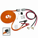 Booster Assembly: 4 AWG, 16 FT Cable, 4 FT Harness - With Polarity Indicator