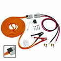 Booster Assembly: 4 AWG, 25 FT Cable, 4 FT Harness - With Polarity Indicator