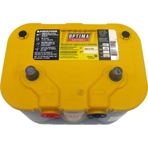 Optima D34 78 Yellow Top Battery 750 Cca