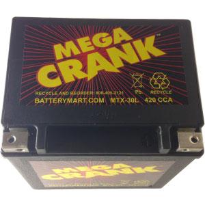 MTX-30L AGM Maintenance Free Battery