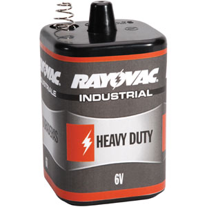 Rayovac 6V-HD 6-Volt Heavy Duty Lantern Battery