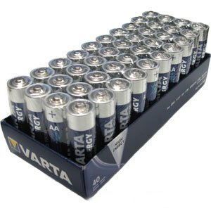 Varta AA Alkaline Batteries - 40 Pack