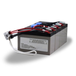 Replacement APC RBC25 Battery Pack