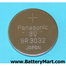 Panasonic BR3032 3V Lithium Coin Cell Battery