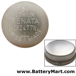 CR2477N Lithium Coin Cell Battery