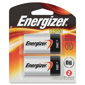 Energizer CRV3 Lithium Photo Batteries - 2 Pack