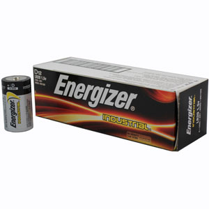 Energizer Industrial D Alkaline Batteries - 12 Pack
