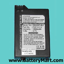 Sony PSP-2000, PSP-3000 Replacement PSP Battery (Slim)