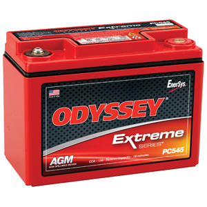 Odyssey PC545MJ Battery with Metal Jacket