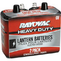 Rayovac 6-Volt Heavy Duty Lantern Battery - 2 Pack