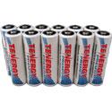 AA NiMH Rechargeable Batteries - 12 Pack