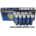 Varta+AAA+Alkaline+Batteries+-+10+Pack