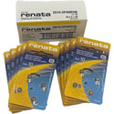 Renata+Size+10+Hearing+Aid+Batteries+-+40+Pack