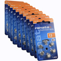 Renata Size 13 Hearing Aid Batteries - 60 Pack