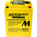 Motobatt MBTX14AU 12V 16.5Ah AGM Battery