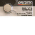 357 Energizer Silver Oxide Button Cell Battery