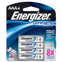 Energizer Ultimate AAA Lithium Batteries - 4 Pack