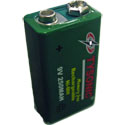 9 Volt Rechargeable Battery
