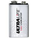 Ultralife 9 Volt Lithium Battery