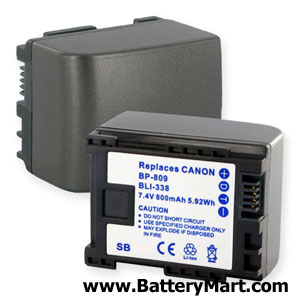 Replacement Canon BP-809 Battery