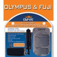 Olympus & Fuji Universal Replacement  Battery Charger