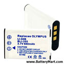 Replacement Olympus Li60B Battery