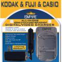 Kodak, Fuji, & Casio Universal Battery Charger