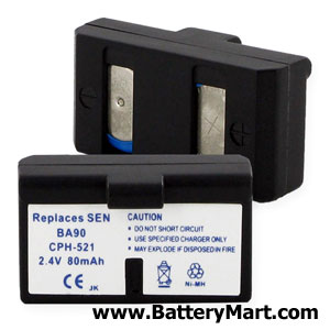 Replacement Sennheiser BA90 Battery