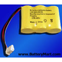 1X3-2/3AA/J Connector Replacement Battery