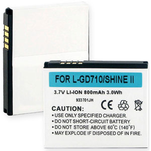 Replacement LG LGIP-570N Battery
