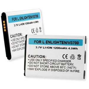 Replacement LG BL44JN Battery for Enlighten, VS700, and more