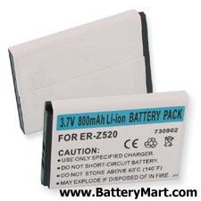 Sony Ericsson W600, W800 Replacement Battery